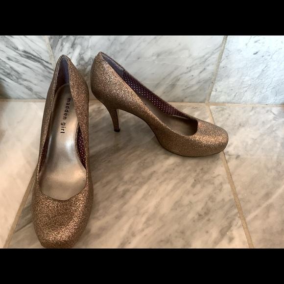 Madden girl cute heels size 8